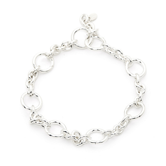 cut links round link ladies bracelet buy silver carrier sterling diamond bracelets charm