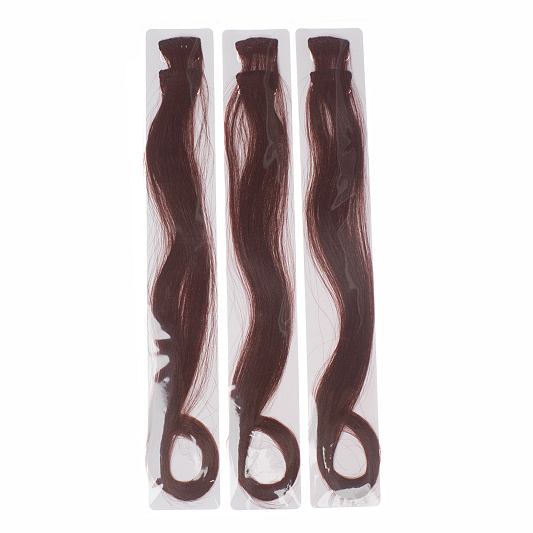 Clix set of 3 next to natural clip in hair extensions 16 qvc uk pmusecretfo Image collections