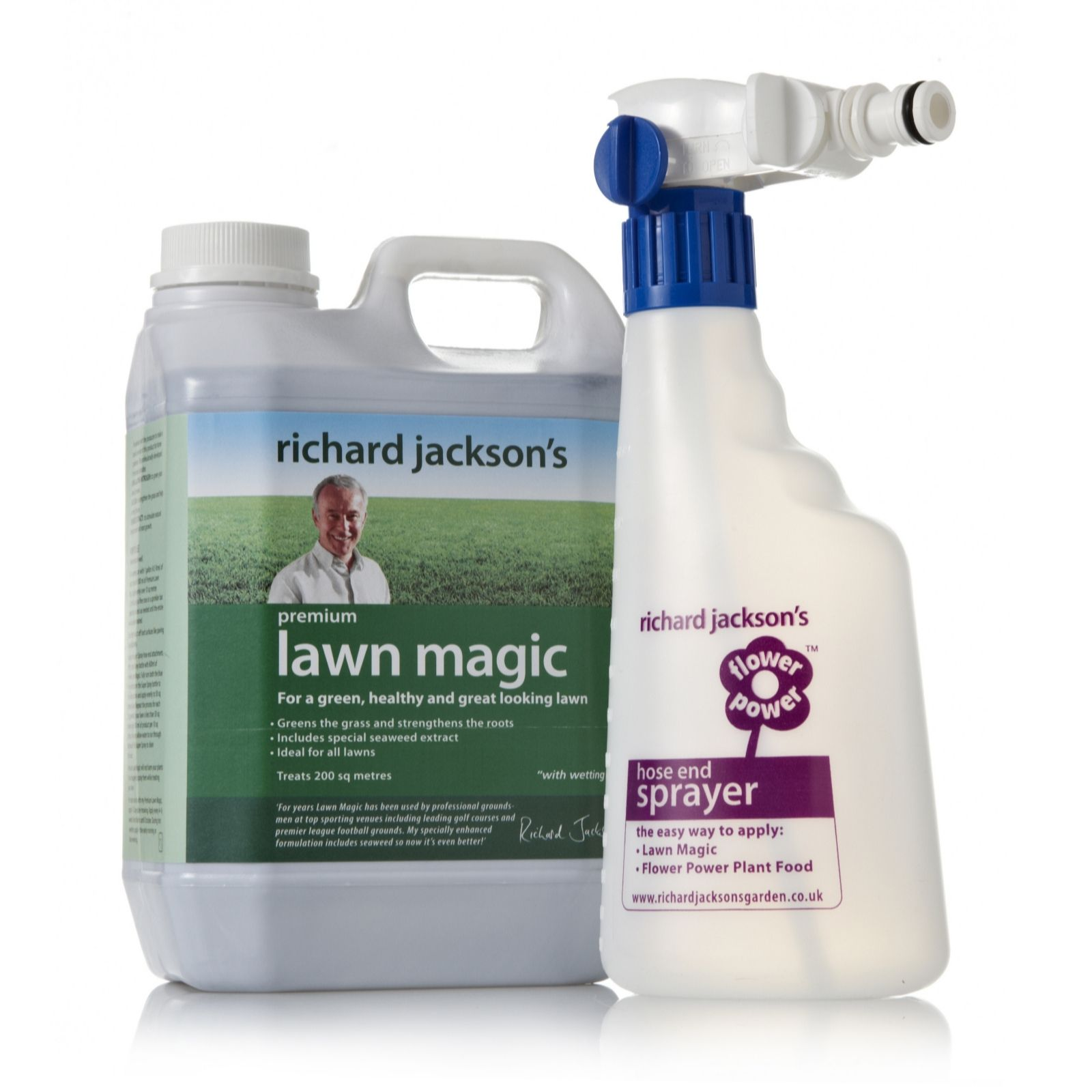 Richard Jacksonu0027s 2 Litre Lawn Magic With Sprayer   Page 1   QVC UK