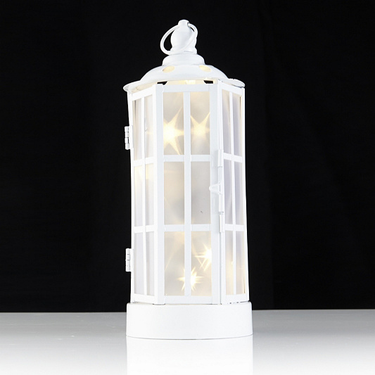 Decorative indoor starburst led lantern page 1 qvc uk