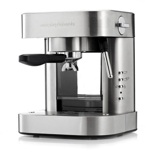 Morphy Richards Elipta 19 Bar Automatic Stainless Steel Coffee Machine Qvc Uk