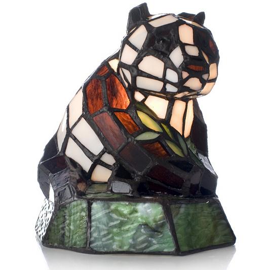Tiffany Style Handcrafted Novelty Panda Lamp   QVC UK. Tiffany Style Lamps Qvc Uk. Home Design Ideas