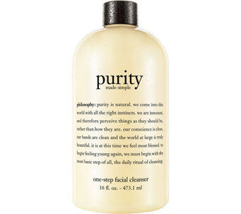 philosophy purity made simple facial cleanser 16oz. - A22700