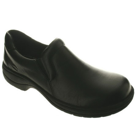 Spring Step Professional Style Wales Leather Slip-ons
