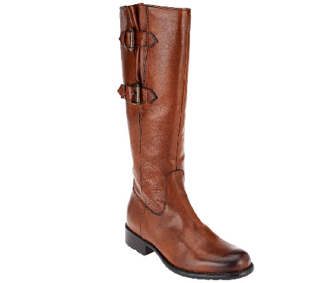 Clarks Artisan Leather Tall Shaft Boots Mullin Spice