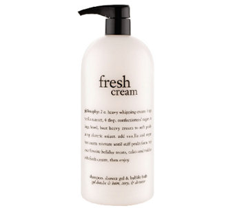 philosophy super-size fresh cream shower gel 32 oz - A259700