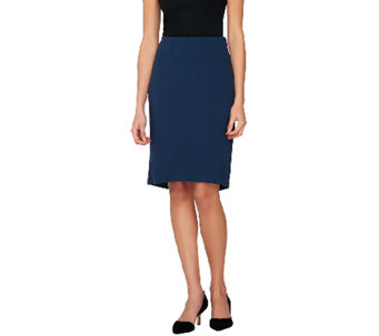 Project Runway by Dmitry Sholokhov Hi-Low Ponte Knit Skirt - A264700