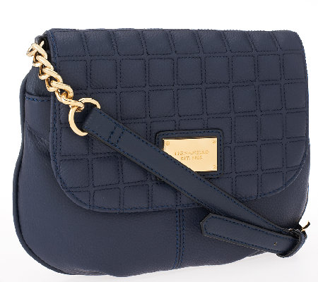 """As Is"" Tignanello Lady Q Quilted Crossbody"