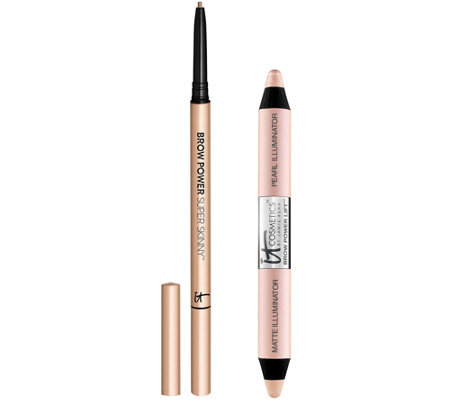 IT Cosmetics Brow Power Super Skinny Pencil & Brow Power Lift Duo
