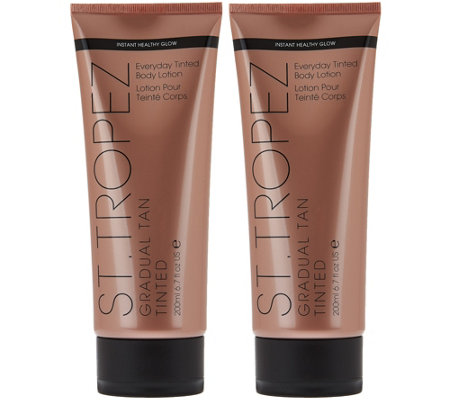 St. Tropez Set of 2 Gradual Tan Tinted Body Lotion