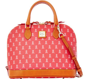 Dooney & Bourke MLB Angels Zip Zip Satchel - A280100