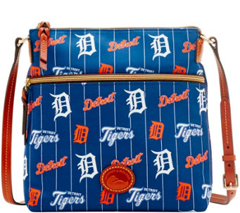 Dooney & Bourke MLB Nylon Tigers Crossbody - A281500