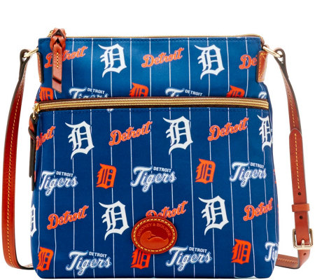 Dooney & Bourke MLB Nylon Tigers Crossbody