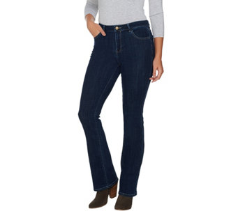 """As Is"" LOGO by Lori Goldstein Petite Bootcut Jeans - A289900"