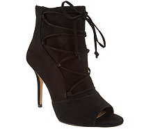 G.I.L.I. Peep Toe Ankle Booties - Shawn - A296500