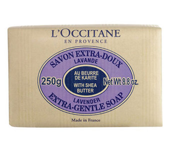 L'Occitane Shea Butter Extra Gentle Soap Lavender, 8.8 oz - A324200