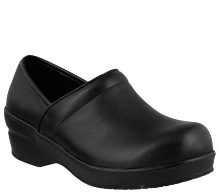 Spring Step Closed Back Professional Clogs - Selle