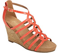 Aerosoles Wedge Sandals - Great Plush - A358500