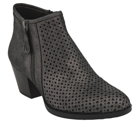 Earth Leather Ankle Boots - Pineberry 2