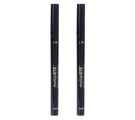 tarte Carbon Black Lash Enhancing Eyeliner Pen Duo w/Peptides