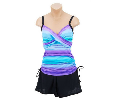DreamShaper by Miraclesuit Wendy Top & Swim Short