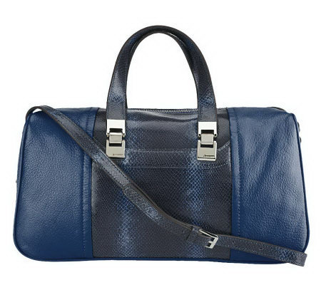B. Makowsky Harper Leather Convertible Satchel