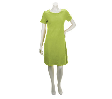 Liz Claiborne New York Essentials Knit Dress with Seam Detail