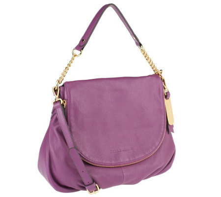 Emma & Sophia Pebble Leather Aimee Shoulder Bag