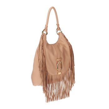 G.I.L.I. Convertible Leather Backpack with Fringe