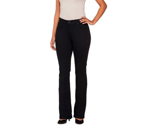 Women with Control My Wonder Jean Regular Twill Boot Cut Pants