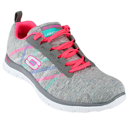 Skechers Lace-up Sneakers w/ Memory Foam - Miracle Worker