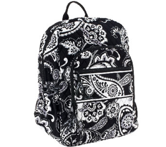 """As Is"" Vera Bradley Signature Print Campus Backpack - A267101"
