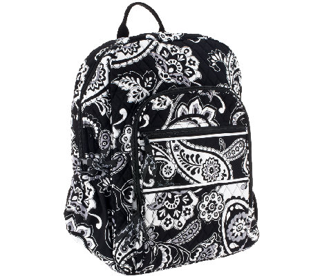 """As Is"" Vera Bradley Signature Print Campus Backpack"
