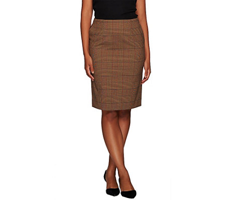 Liz Claiborne New York Heritage Collection Plaid Skirt