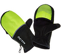 CTR Convertible Gloves with Pocket & Silver Smart Touch - A271201