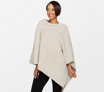 Barefoot Dreams Cozychic Boat Neck Poncho - A280201