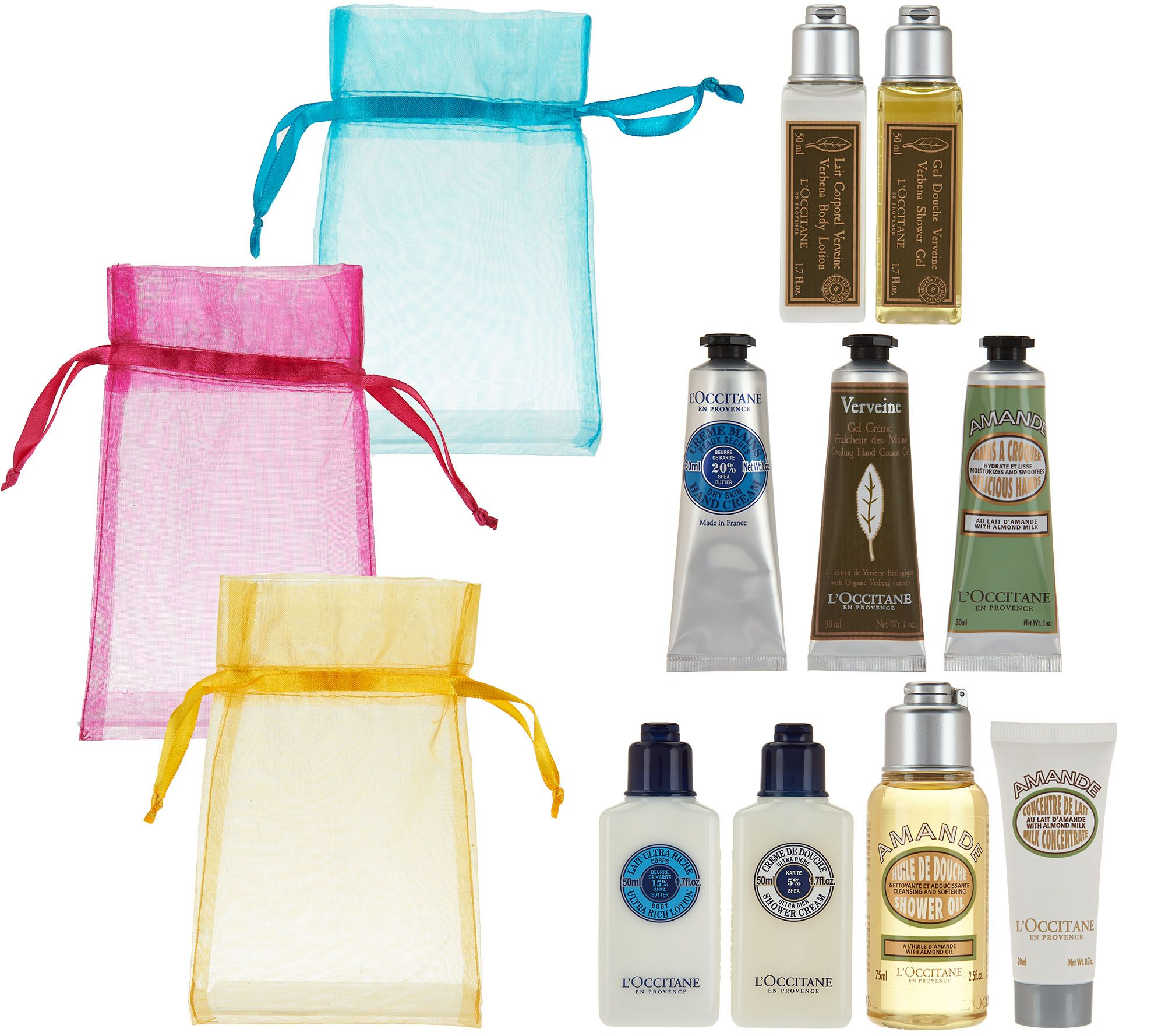 L'Occitane Gift of Luxury 9-piece Gift Set - Page 1 — QVC.com