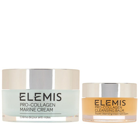 Elemis Pro-Collagen Marine Cream w/ Travel Size Cleansing Balm