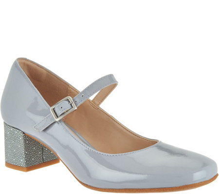 Clarks Narrative Leather Mary Janes - Chinaberry Pop