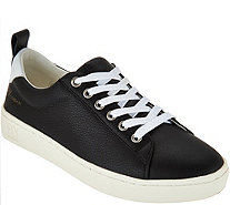 FLY London Leather Lace-up Sneakers - Maco - A291001