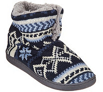 MUK LUKS Surplice Slipper Booties - A297901