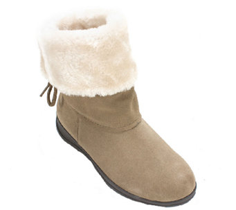 White Mountain Suede Leather Winter Boots - Thumper - A335501