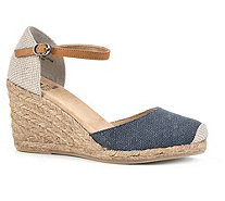 Heritage by White Mountain Espadrille WedgeSandals - Mamba - A336501