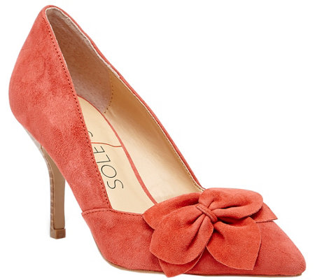 Sole Society Leather Pumps - Aveline