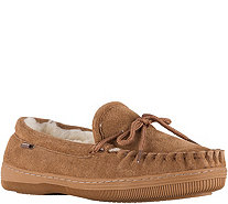 Lamo Suede Moccasins with Lace - A363101