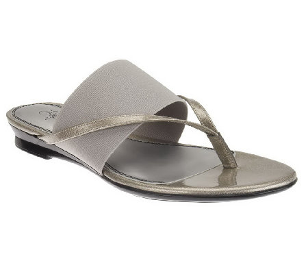 LifeStride Nitro Thong Sandals with Elastic Band