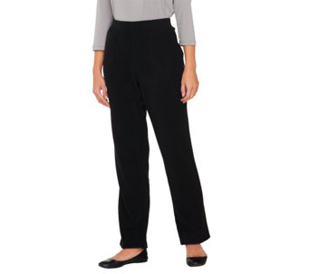 Denim & Co. Active Petite Fleece Pants with Pockets - A260302