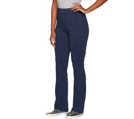 Isaac Mizrahi Live! SOHO Boot Cut Double Knit Pants