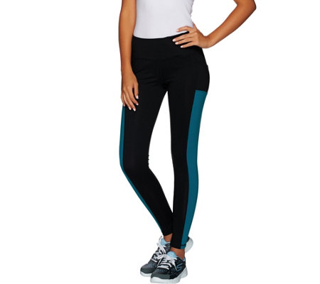 cee bee CHERYL BURKE Legging with Side Pocket