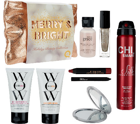QVC Beauty Merry & Bright 8-piece Holiday Collection